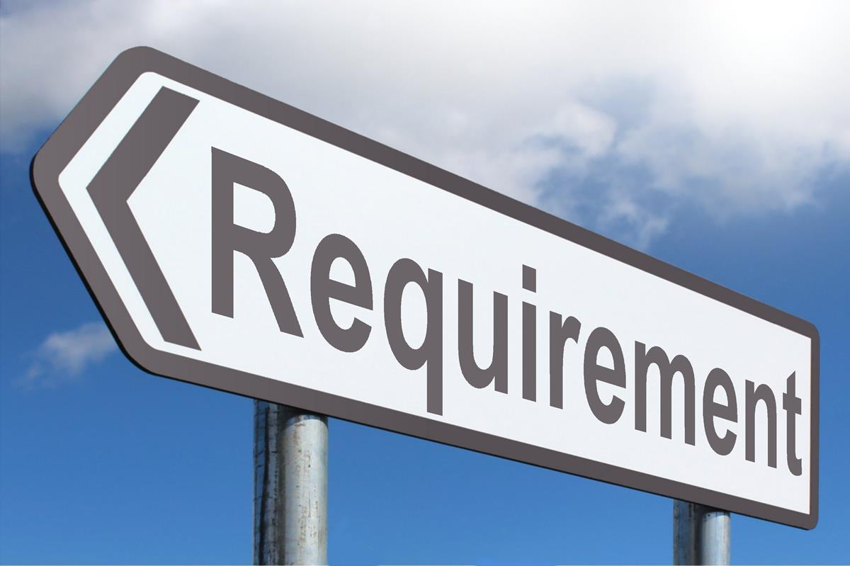 Image result for requirement